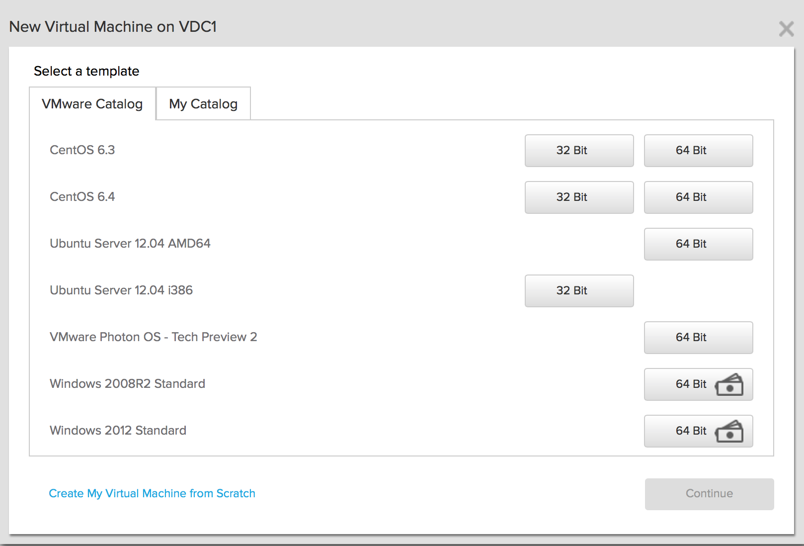 Running Project Photon on vCloud Air · VMware Photon OS 1 0 and 2 0